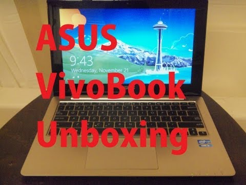 ASUS Vivobook X202/Q200 Unboxing and a Quick Look