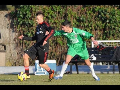 AC Milan: 10 goals in training match (24/01/2013)