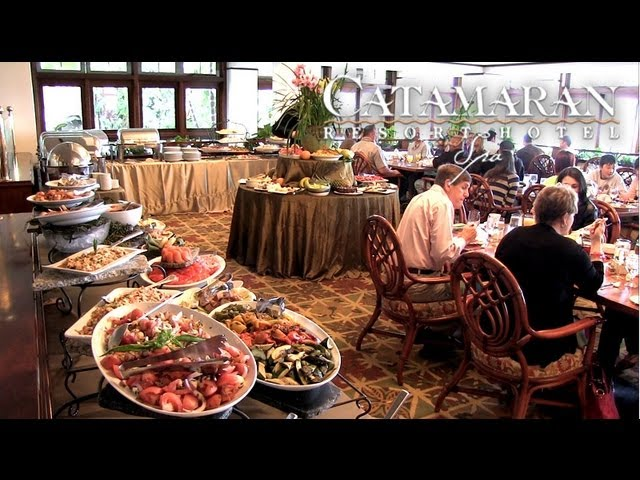 Sunday Brunch at the Catamaran Resort Hotel and Spa