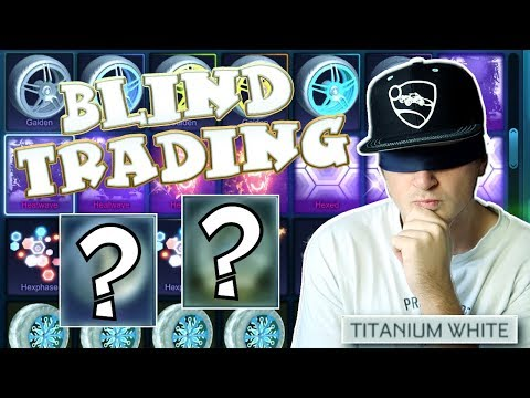 ALWAYS TITANIUM WHITE! - BEST ITEMS ONLY! | Blind Trading With Fans In Rocket League #14