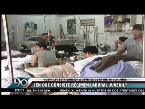 La Ley Pulpín: ¿En qué consiste el regimen laboral juvenil?