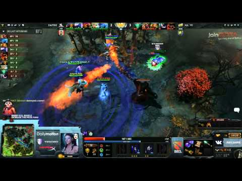 Na'Vi vs Team Empire Game 1   Dota 2 Champions League @TobiWanDOTA