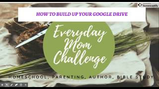 How to Use Google Drive for Your Classroom Homeschool Organization Tips