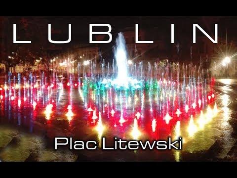 Nowa Fontanna Na Placu Litewskim W Lublinie