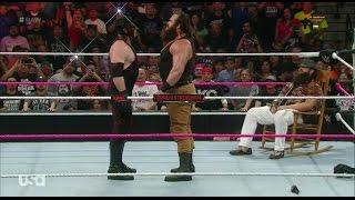 Kane Vs Braun Strowman - WWE Live's WrestleMania Revenge Tour through Europe Day 1 - MILAN, Italy