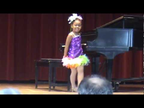 Christiana played Dancing Drums by Grill In the JFMM Costume Recital (10-27-12)