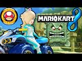Mario Kart 8: Mushroom Cup Mirror Rosalina New Vehicle Part Gameplay Walkthrough PART 17 Wii U HD