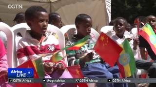 Chinese diplomats' spouses support girls' orphanage in Ethiopia