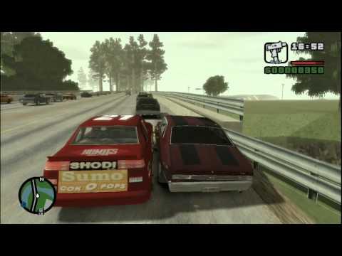 Gta 4 San Andreas Gameplay Gta iv pc San Andreas