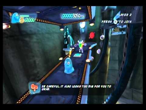 Monsters vs. Aliens Movie Game Walkthrough Part 11 (Wii)