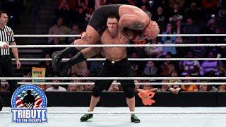 එක පිට එක, උඩ යට හොද මට්ටුව.. John Cena, Dolph Ziggler, Erick Rowan & Ryback vs. Big Show, Kane, Set