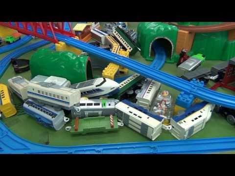 【HD】湯郷温泉てつどう模型館&レトロおもちゃ館 プラレール