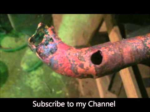 HVAC Brazing Damage do to Over Heating Copper