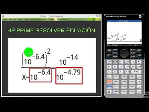 HP PRIME RESOLVER ECUACION DIFICIL 01
