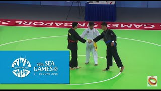Pencak Silat Tanding Men's ClC Final VIE vs THA (Day 9) | 28th SEA Games Singapore 2015