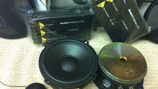 Unboxing Old School Boston Acoustics ProSeries 4.4 Speakers - 1080P