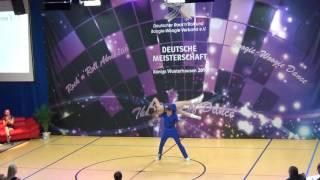 Vanessa Gottschall & Christian Lehr - Deutsche Meisterschaft 2016