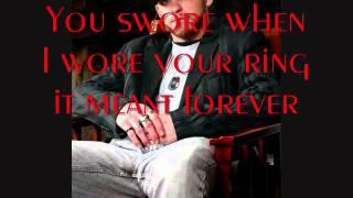 Brantley Gilbert - You Promised (with lyrics)