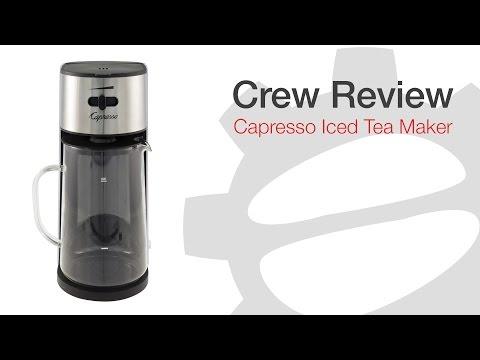 Countertop Ice Maker Costco : Crew Review: Capresso Iced Tea Maker