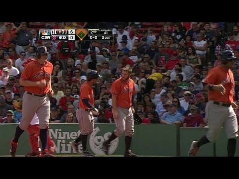 HOU@BOS: Altuve launches his first career grand slam