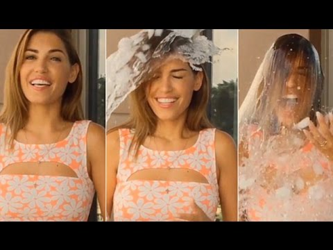 Louis van Gaal nominated for Ice Bucket Challenge by Wesley Sneijder's wife Yolanthe Cabau