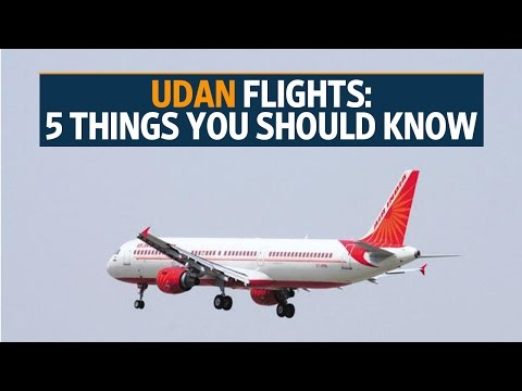 UDAN flights: 5 things you should know