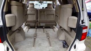 Download Song How to fold Chairs or Seats in Toyota Alphard Vellfire 1 Free StafaMp3