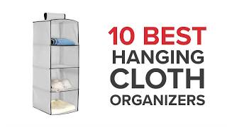 10 Best Cloth Hanging Organizers in India with Price