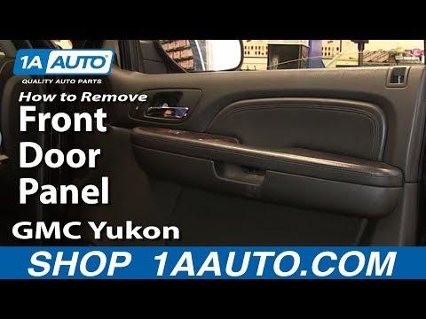 How To Install Remove Front Door Panel 07-13 Silverado Tahoe LTZ Sierra Yukon SLT Denali