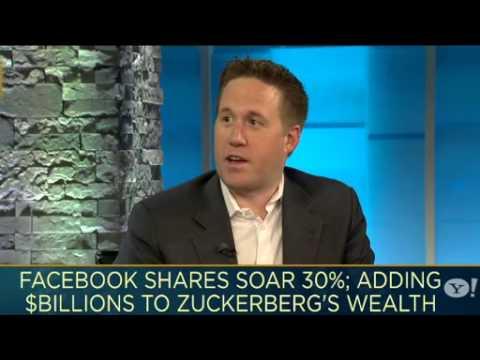 Facebook Surges and Mark Zuckerberg Pockets $3.8 Billion