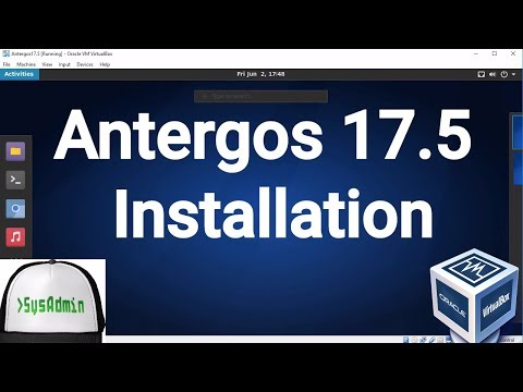 Antergos 17.5 Installation on Oracle VirtualBox [2017]