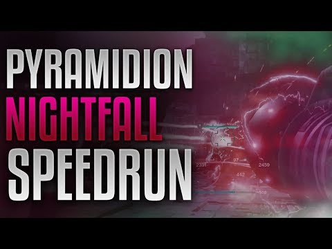 Destiny 2 - Pyramidion Nightfall World Record Speedrun [6:06]