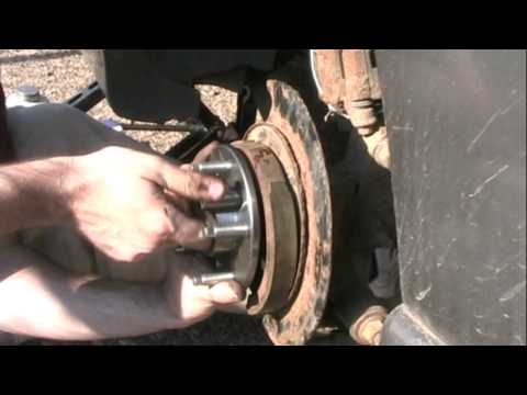 Rear Wheel Bearing Change - 2002 Grand Prix