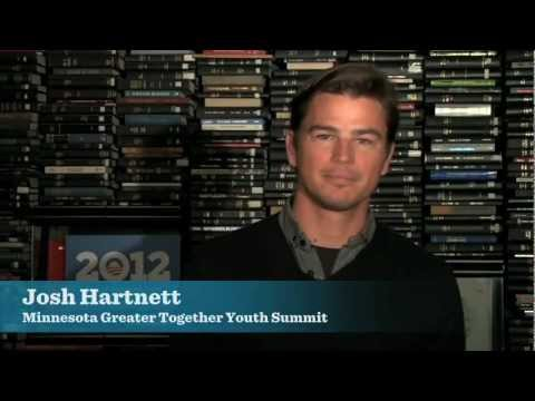 Josh Hartnett Reflects on the Minnesota Greater Together Youth Summit
