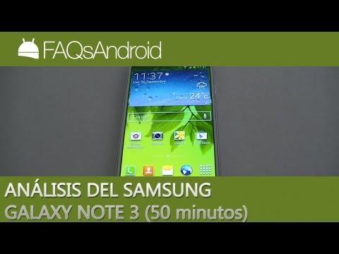 Análisis del Samsung Galaxy Note 3 en español: LA REVIEW