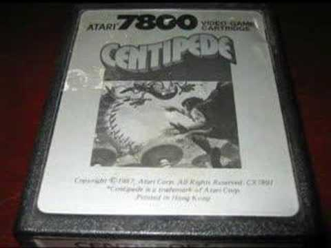 Classic Game Room HD - CENTIPEDE for Atari 7800 review