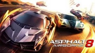Install Asphalt 8 Airborne and Gameplay Android Smartphone
