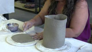 Making Pottery Birdhouses