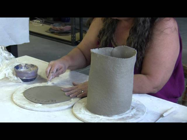 Making Pottery Birdhouses