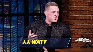 J.J. Watt Couldn't Bear to Watch the Super Bowl