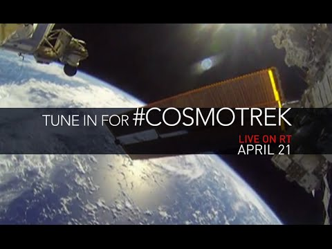 #CosmoTrek: Ask your question LIVE to ISS crew