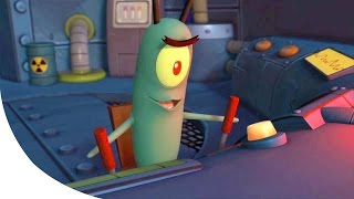 SpongeBob SquarePants Plankton's Robotic Revenge Walkthrough Part 1 - FULL Gameplay Movie