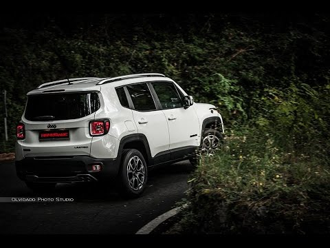 Jeep Renegade Limited on road