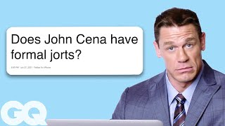 Download Lagu John Cena Goes Undercover on Twitter, YouTube, and Reddit | Actually Me | GQ Gratis STAFABAND