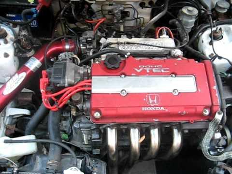 Jackson Racing M62 Supercharged B20vtec Engine Revving
