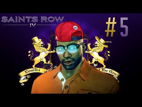 Saints Row 4 Lets Play - Part 5 - The Escape: Break Out Of The Simulation | The Real World!