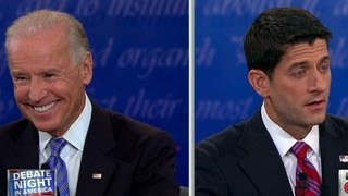 Raw video: Biden, Ryan get heated over Bush era tax cuts