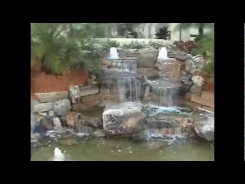 Crystal Waterscapes Rock Waterfall.avi