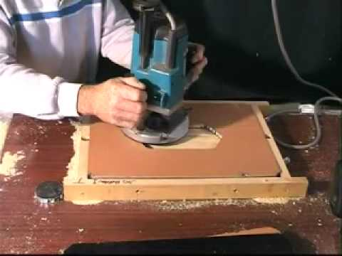 Routing with Tom O'Donnell   Producing a small cabinet door.MP4 Music Videos
