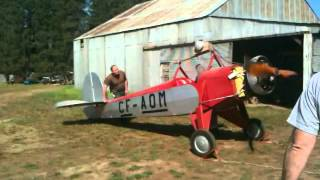 Corben / Pober Jr Ace and Salmson Radial Startup